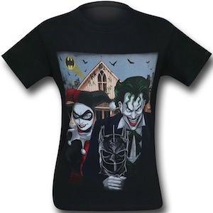 Joker & Harley Quinn American Gothic T-Shirt