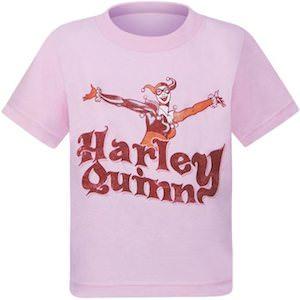 Pink Kids Harley Quinn T-Shirt