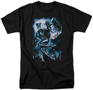 Catwoman And The Moon T-Shirt