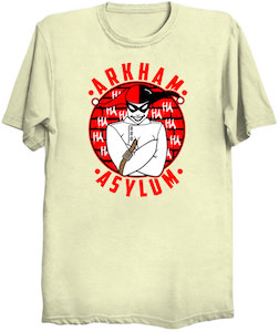 Harley Quinn Arkham Asylum T-Shirt