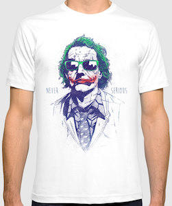 The Joker Never Serious T-Shirt