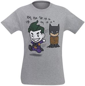 Batman Tied Up By The Joker T-Shirt