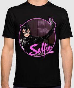 Catwoman Selfie T-Shirt