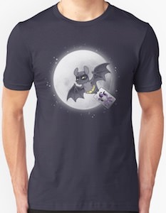Bat Flying The Joker T-Shirt