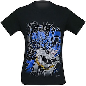 Batman Punching Glass T-Shirt