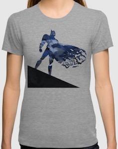 Batman On An Angle T-Shirt