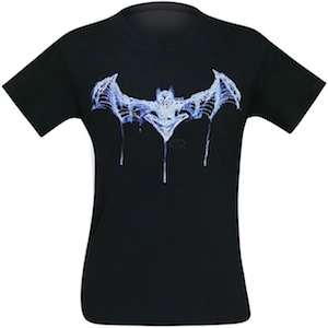Batman Skeleton Logo T-Shirt
