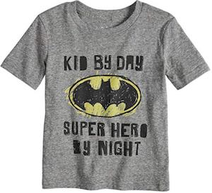 Kid By Day Superhero By Night T-Shirt