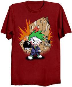 Calvin As The Joker T-Shirt