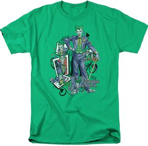 The Joker And Playing Cards T-Shirt