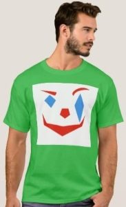 Joker Abstract Face T-Shirt