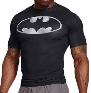 Batman Logo Compression T-Shirt
