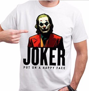 Joker Put On A Happy Face T-Shirt
