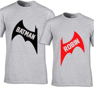 Batman And Robin T-Shirt Set