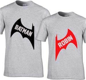 Batman And Robin T-Shirt Set