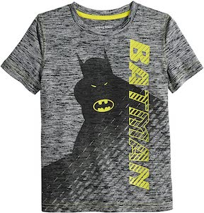 Kids Grey Batman T-Shirt