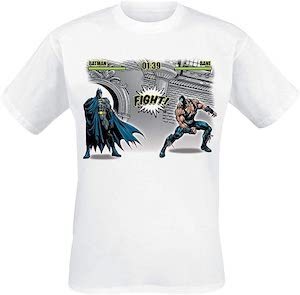 Batman Fights Bane T-Shirt