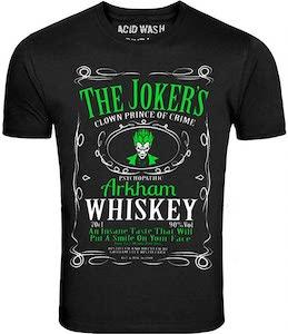 The Jokers Arkham Whiskey T-Shirt