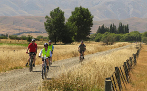 New Zealand by bike also involves several days on the Otago rail trail - Great Bike Tours