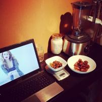 Prepping 2 healthy recipes for 2 events