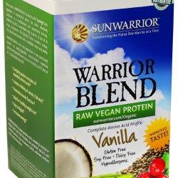Sun Warrior - Warrior Blend Raw Protein Vanilla