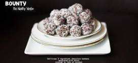 Bounty   The healthier version with only 3 ingredients