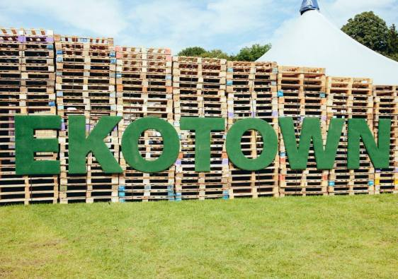 EkoTown Lifestyle Festival 2014 entrance