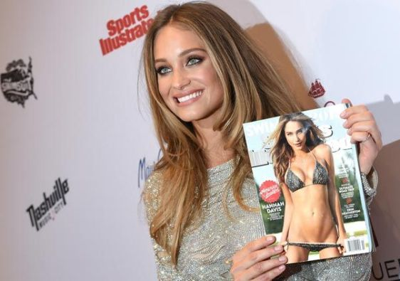 Hannah Davis on the cover of Sports Illustrated