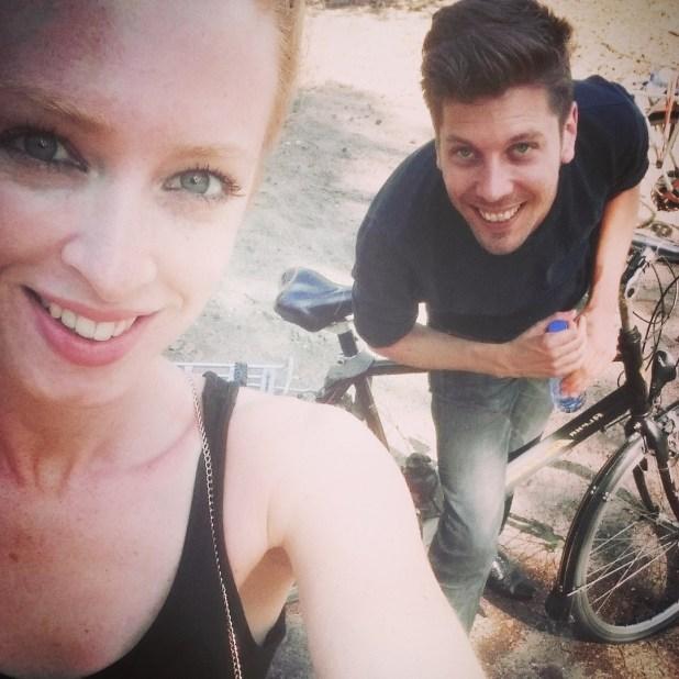 Joehoe! Biking again ...