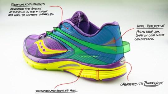 Kinvara 4 women's running shoes