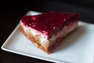 vegan gluten free sugar free raspberry cheesecake