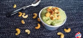 :actose Free Healthy Banana Cashew Nut Avocado Ice Cream