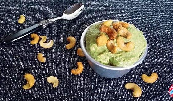 :actose Free Healthy Banana Cashew Nut Avocado Ice Cream