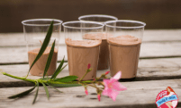Groovy Almost Raw Almond Butter Chocolate Pudding