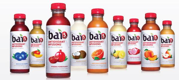 Bai5 coffee drink fruit