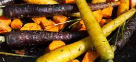 Sea Salt, Rosemary & Thyme Roasted Root Vegetables | Healthy Dinner