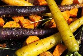 Sea Salt, Rosemary & Thyme Roasted Root Vegetables | Healthy Dinner