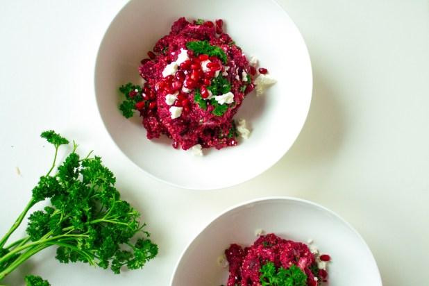 quinoa-beet-goatcheese-salad