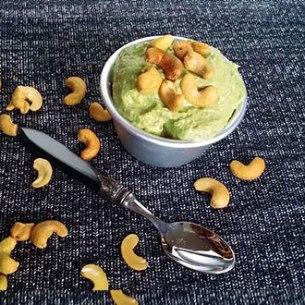 Healthy Banana Cashew Ice Cream Lactose Free