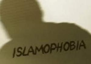 An image of the word Islamophobia