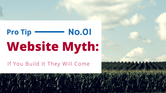 Website Myth: If You Build It They Will Come