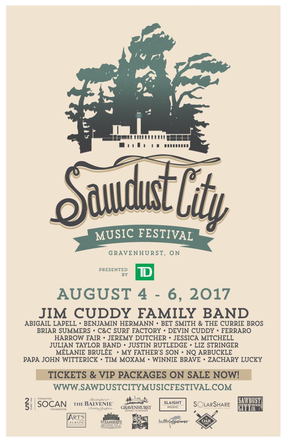 Sawdust City Music Festival