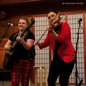 Cassie and Maggie, Valley Folk Music, Corning, NY, 20 May 2017