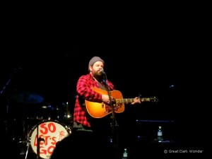 Donovan Woods, Sellersville Theater, Sellersville, PA, 17 March 2017