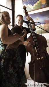 Shannon Butcher & Ross MacIntyre, Kensington Market Jazz Festival, 16 September 2017, Toronto, ON