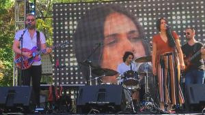 Joey Landreth with Lydia Persaud, 16 June 2018, Sound of Music Festival, Burlington, ON