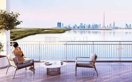 luxury apartments in 17 Icon Bay Tower