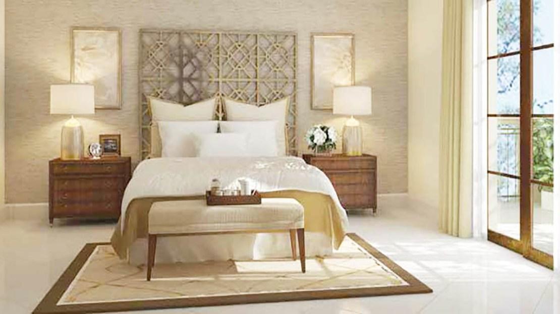 Palma Luxury villa master bedroom in Arabian Ranches