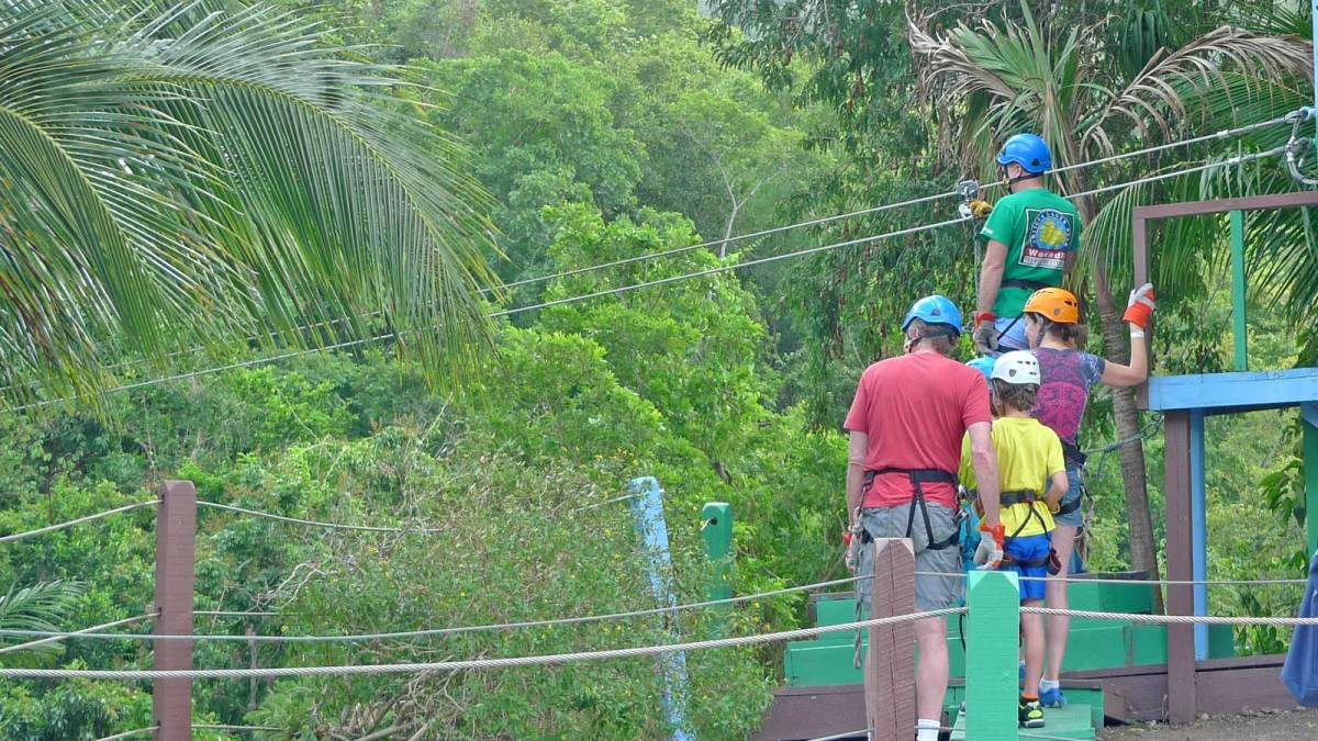 Antigua-rainforest-zipwire