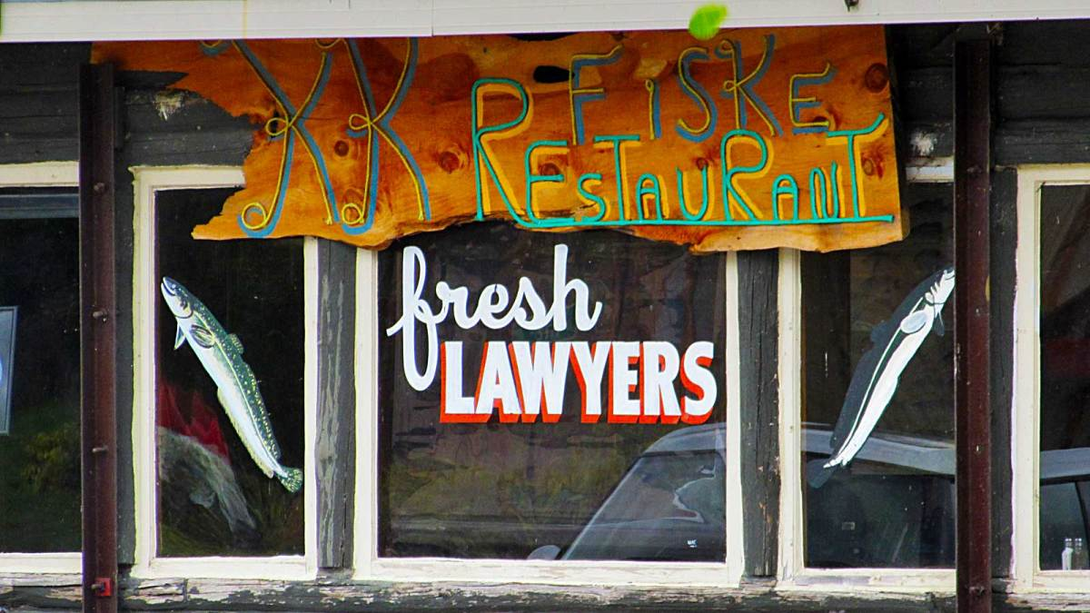 washington-island_lawyer-fish-sign